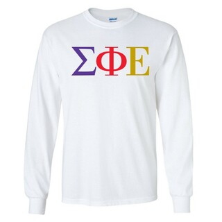Sigma Phi Epsilon Logo Long Sleeve Tee