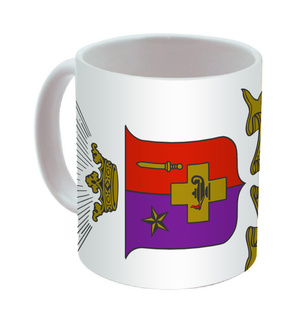 Sigma Phi Epsilon Mega Crest - Shield Coffee Mug