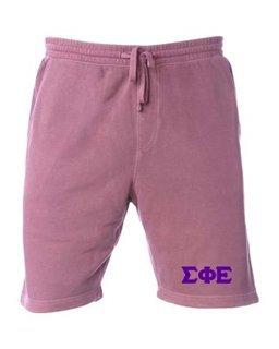 Sigma Phi Epsilon Pigment-Dyed Fleece Shorts