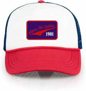 Sigma Phi Epsilon Red, White & Blue Trucker Hat