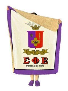 Sigma Phi Epsilon Sherpa Lap Blanket