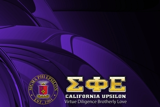 Sigma Phi Epsilon Tablecloth