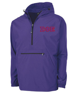 Sigma Phi Epsilon Tackle Twill Lettered Pack N Go Pullover