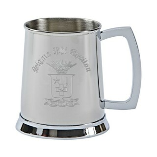 Sigma Phi Epsilon Tankard - Stainless Steel