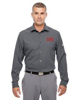 Sigma Phi Epsilon Under Armour�  Men's Ultimate Fraternity Long Sleeve Buttondown