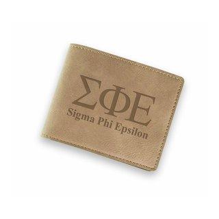 Sigma Phi Epsilon Fraternity Wallet