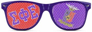 Sigma Phi Epsilon Wayfarer Style Lens Sunglasses