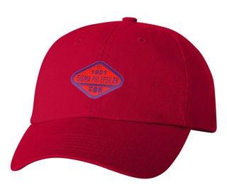 DISCOUNT-Sigma Phi Epsilon Woven Emblem Hat