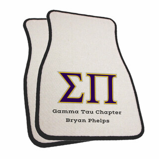 Sigma Pi Car Mats