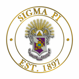 Sigma Pi Circle Crest Decal
