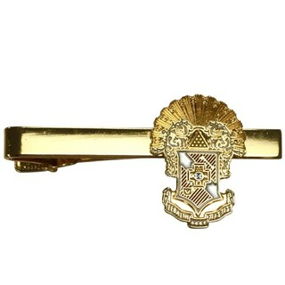 Sigma Pi Color Crest - Shield Tie Clips