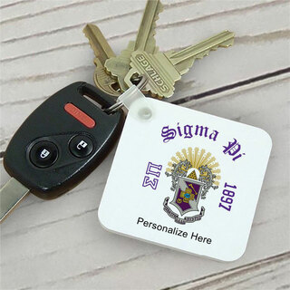 Sigma Pi Color Keychains