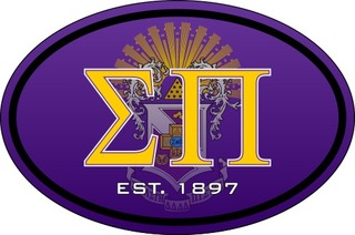 Sigma Pi Color Oval Decal