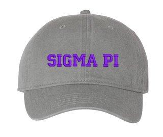 Sigma Pi Comfort Colors Pigment Dyed Baseball Cap