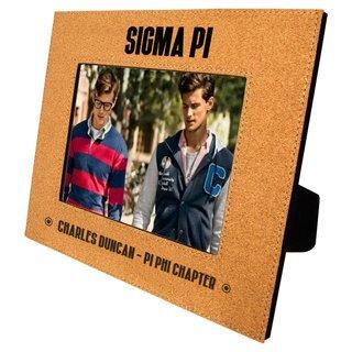 Sigma Pi Cork Photo Frame