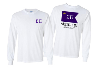 Sigma Pi Flag Long Sleeve T-shirt