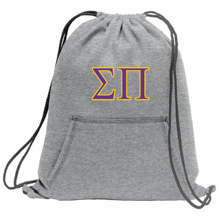 Sigma Pi Fleece Sweatshirt Cinch Pack