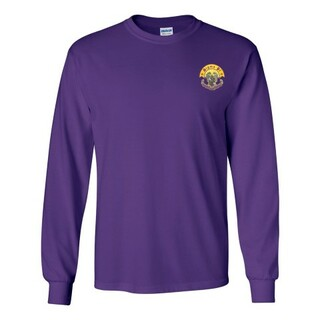DISCOUNT-Sigma Pi Fraternity Crest - Shield Longsleeve Tee