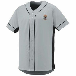 DISCOUNT-Sigma Pi Fraternity Crest - Shield Slugger Baseball Jersey