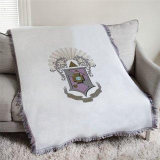 Sigma Pi Full Color Crest Afghan Blanket Throw