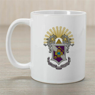 Sigma Pi Greek Crest Coffee Mug