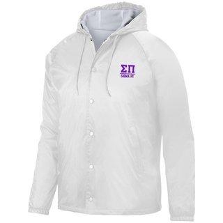 Sigma Pi Hooded Coach's Jacket