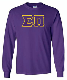 Sigma Pi Lettered Long Sleeve Shirt