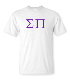 Sigma Pi Lettered Tee - $9.95!
