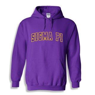 Sigma Pi Letterman Twill Hoodie