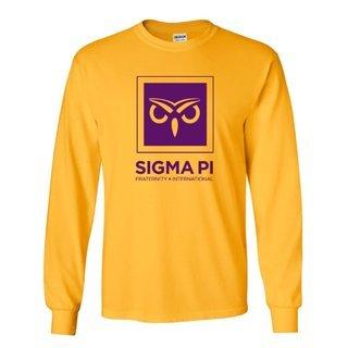 Sigma Pi Logo Long Sleeve Tee