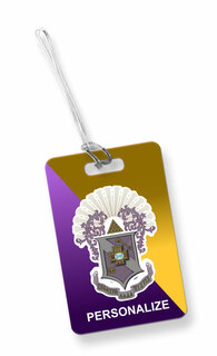 Sigma Pi Luggage Tag