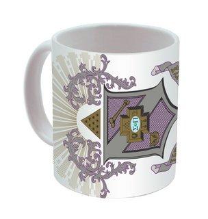 Sigma Pi Mega Crest - Shield Coffee Mug