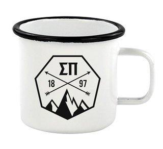 Sigma Pi Metal Camping Mug