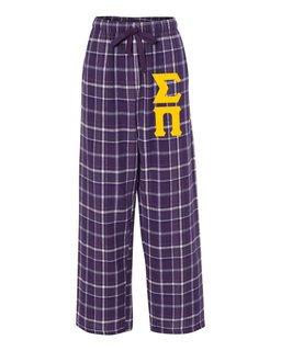 Sigma Pi Pajamas Flannel Pant