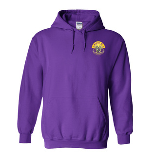 DISCOUNT-Sigma Pi Crest - Shield Emblem Hooded Sweatshirt