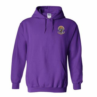 DISCOUNT-Sigma Pi Crest - Shield Emblem Hooded Sweatshirt