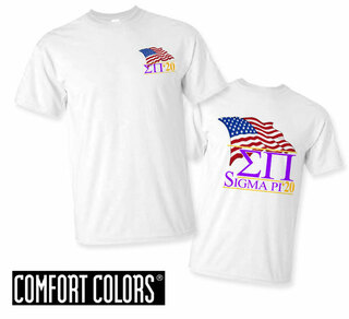 Sigma Pi Patriot  Limited Edition Tee - Comfort Colors