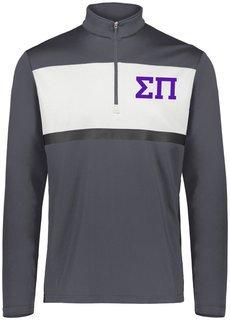 Sigma Pi Prism Bold 1/4 Zip Pullover