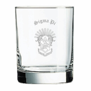 Sigma Pi Old Style Glass