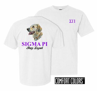 Sigma Pi Stay Loyal Comfort Colors T-Shirt