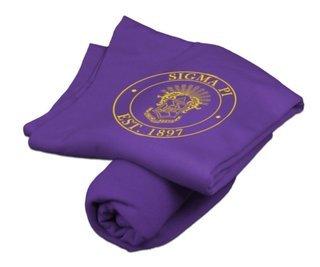 Sigma Pi Sweatshirt Blanket