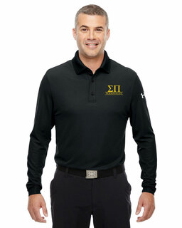 Sigma Pi Under Armour�  Men's Performance Long Sleeve Fraternity Polo