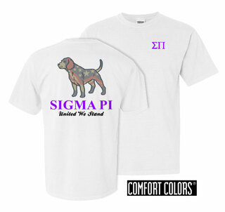 Sigma Pi United We Stand Comfort Colors T-Shirt