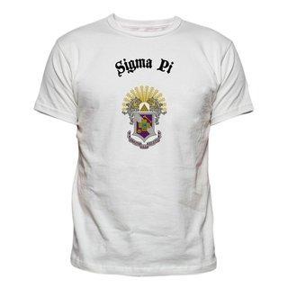 Sigma Pi Vintage Crest - Shield T-shirt
