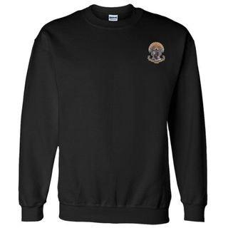 DISCOUNT-Sigma Pi World Famous Crest - Shield Crewneck Sweatshirt