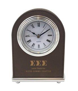 Sigma Sigma Sigma Arch Desk Clock