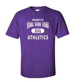 Sigma Sigma Sigma Athletics T-Shirts