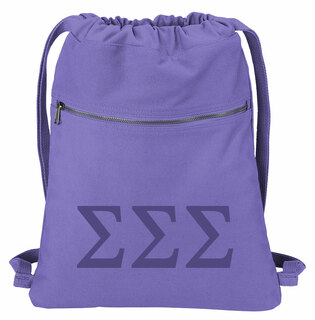 Sigma Sigma Sigma Beach Wash Cinch Pack