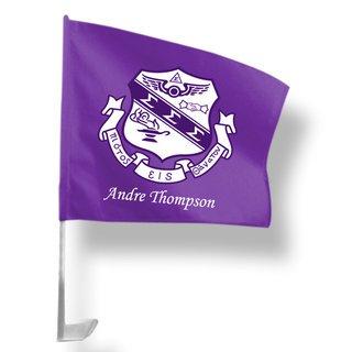 Sigma Sigma Sigma Car Flag