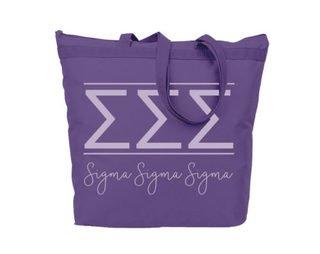Sigma Sigma Sigma Classic Tote